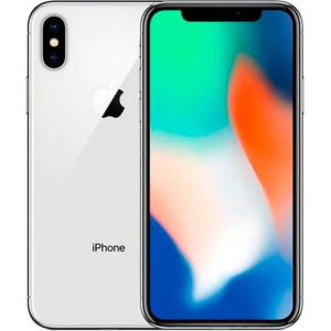 Apple iPhone X 256GB Silver (MQAF2)