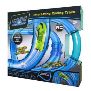 Chariots Speed Pipes Трубопроводный автотрек Tube Race 27 деталей