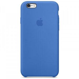 Чехол силикон iPhone 6 cobalt blue