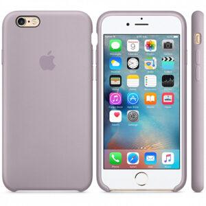 Чехол силикон iPhone 6 lavender