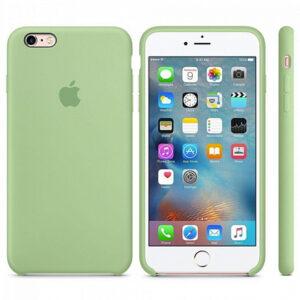 Чехол силикон iPhone 6 mint gum