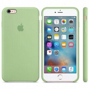 Чехол силикон iPhone 6 Plus mint gum