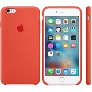 Чехол силикон iPhone 6 Plus orange
