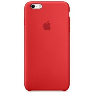 Чехол силикон iPhone 6 Plus red