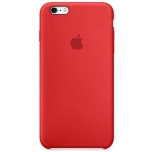 Чехол силикон iPhone 6 red