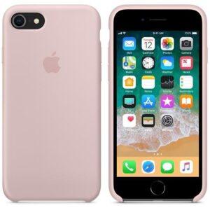 Чехол силикон iPhone 7 /8 pink sand