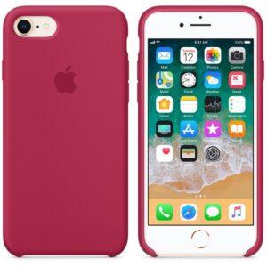 Чехол силикон iPhone 7 /8 rose red