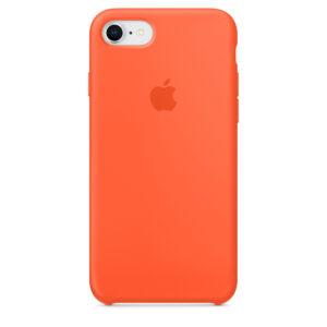 Чехол силикон iPhone 7 /8 spicy orange