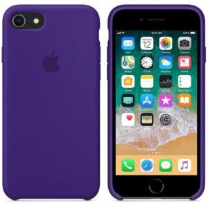 Чехол силикон iPhone 7 /8 ultra violet