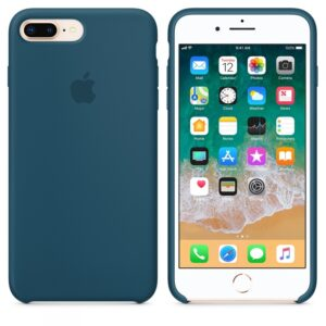 Чехол силикон iPhone 7 Plus /8 Plus cosmos blue