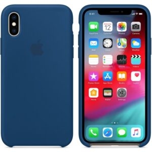 Чехол силикон iPhone XS blue horizon