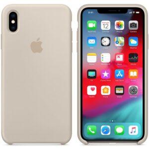 Чехол силикон iPhone XS stone