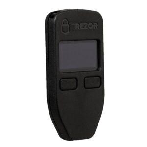 Аппаратный криптокошелек TREZOR black