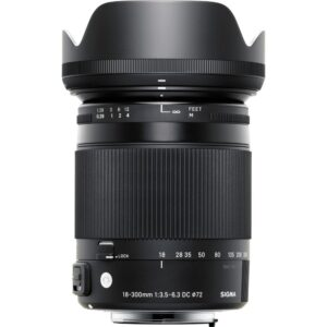SIGMA 18-300mm f/3.5-6.3 DC MACRO FOR CANON
