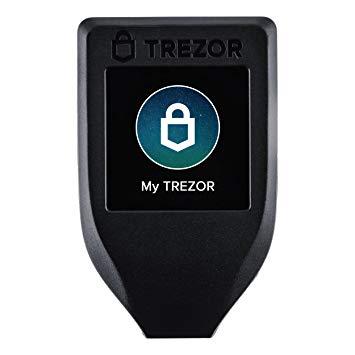 Аппаратный криптокошелек Trezor Model T
