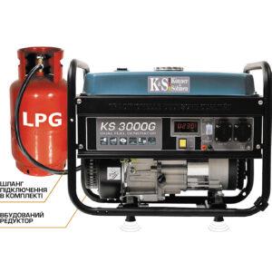 Газовый/бензиновый генератор Konner&Sohnen KS 3000 G +
