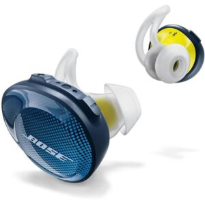 """Наушники TWS (""""полностью беспроводные"""") Bose SoundSport Free Wireless Navy/Citron 774373-0020"""